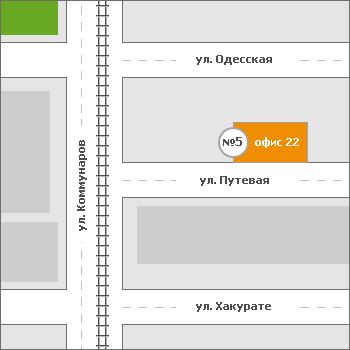 Схема проезда Пирант